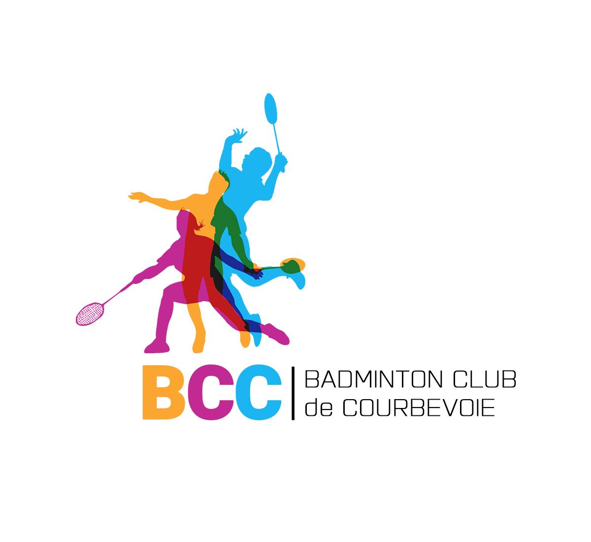 Modern, Personable Logo Design for BCC / Badminton Club de