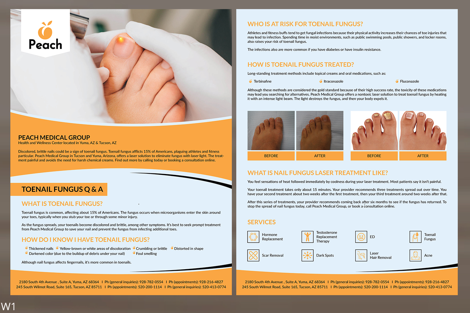 Modern, Professional, Healthcare Flyer Design for a Company