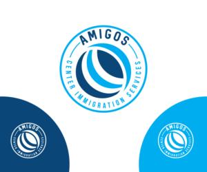 Amigos Center Immigration Services | 79 Logo Designs for