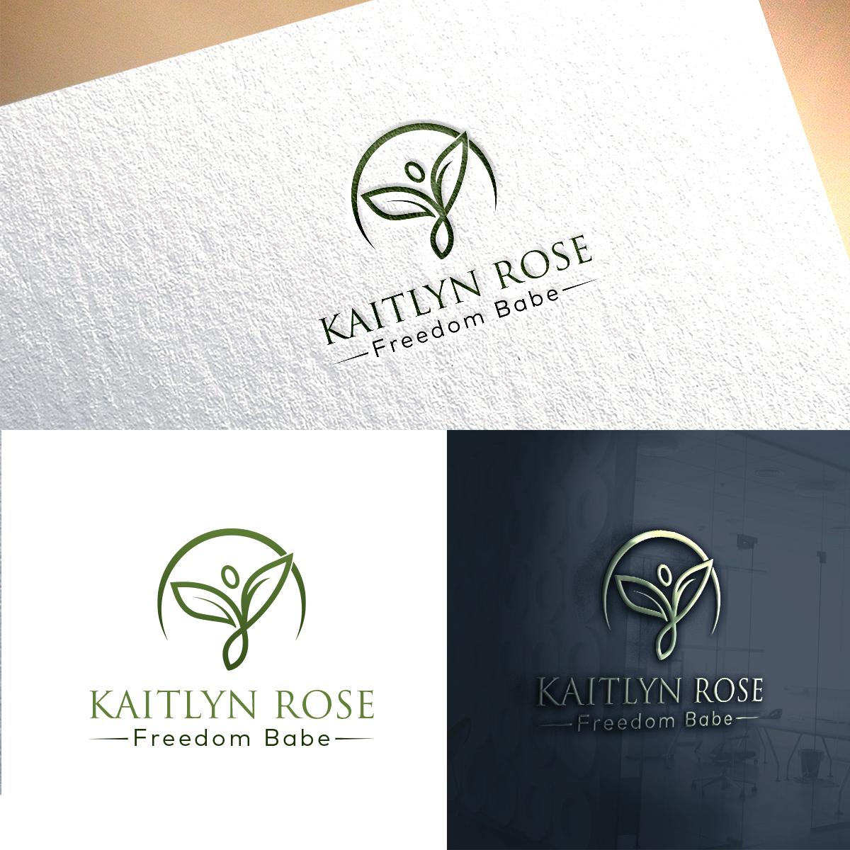Logo Design For Kaitlyn Rose Freedom Babe By Creative Jiniya