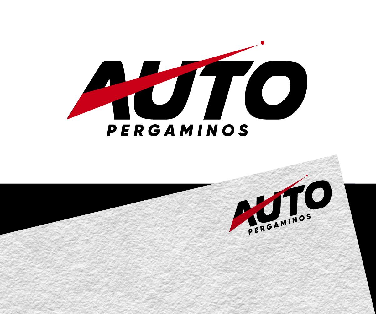 Masculine Modern Automotive Logo Design For Auto Pergaminos By Jay Design Design 22100267