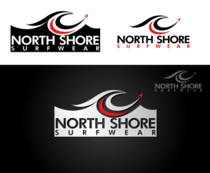 Logo for a new surfwear brand | 90 Logo Designs for North