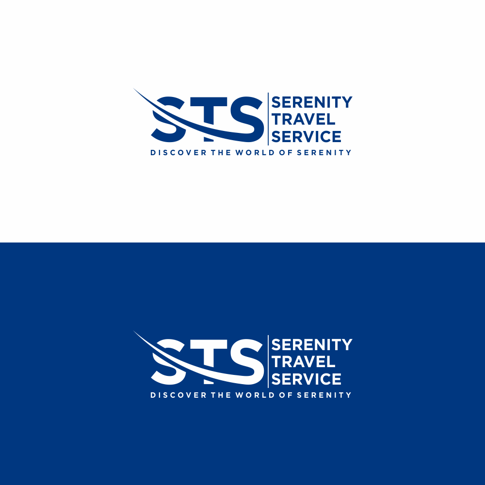 Logo Design For Serenity Travel Service Tagline Discover The