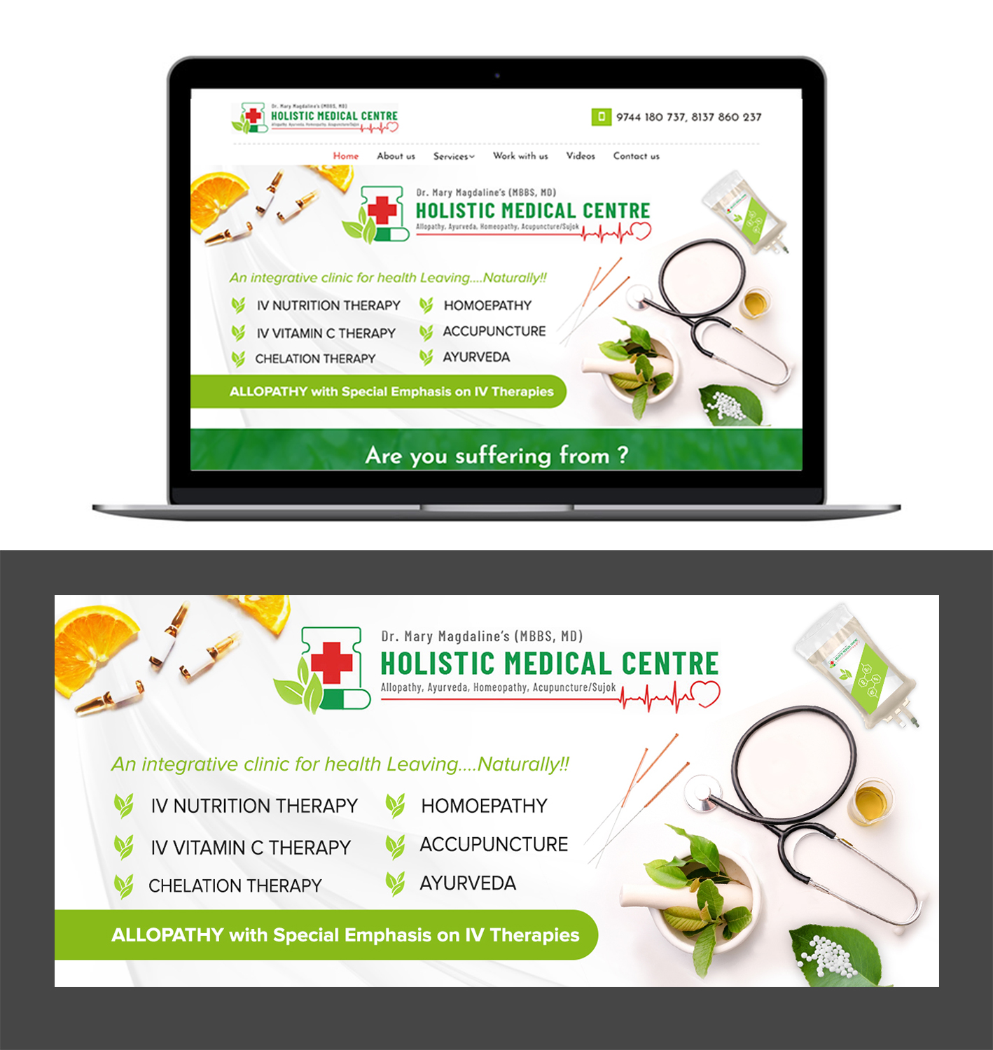 Banner Design For Holistic Clinic 59 Banner Ad Designs For A Business In United Kingdom