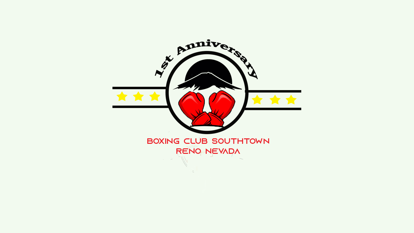 modern playful logo design for 1st anniversary title boxing club southtown reno nevada by quratulain 25 design 22173416 designcrowd