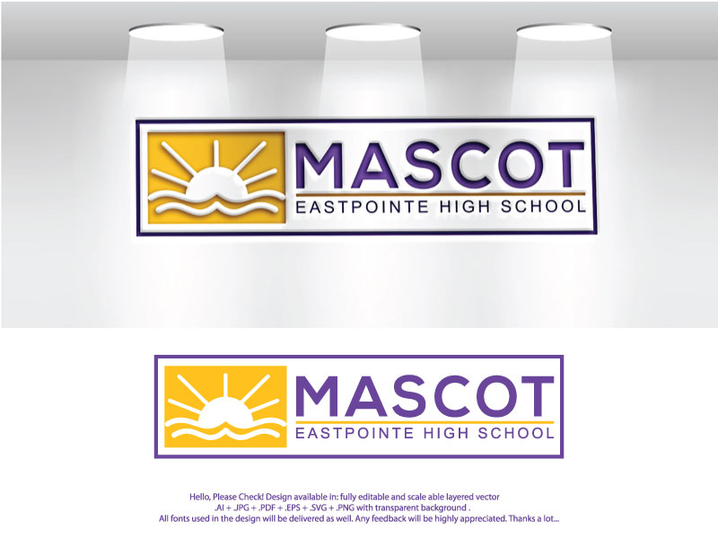 Bold, Modern, High School Logo Design for Mascot with