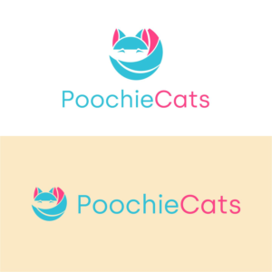 "The logo should have the word ""PoochieCats"" in combination with a fun/cute image of a dog or cat. of a Dog & Cat  