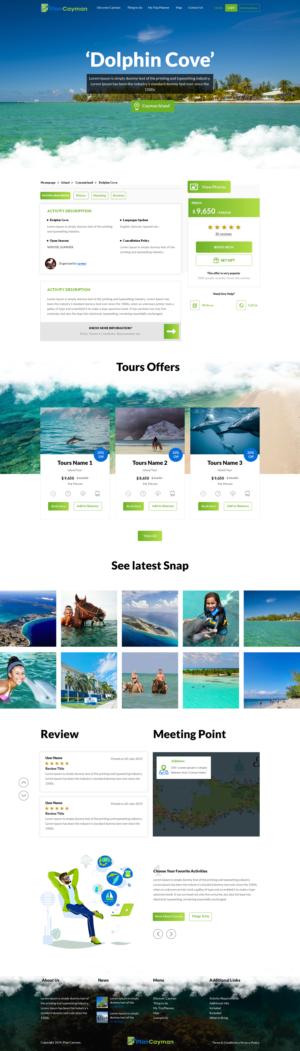 Tourism Websites 95 Custom Tourism Web Designs