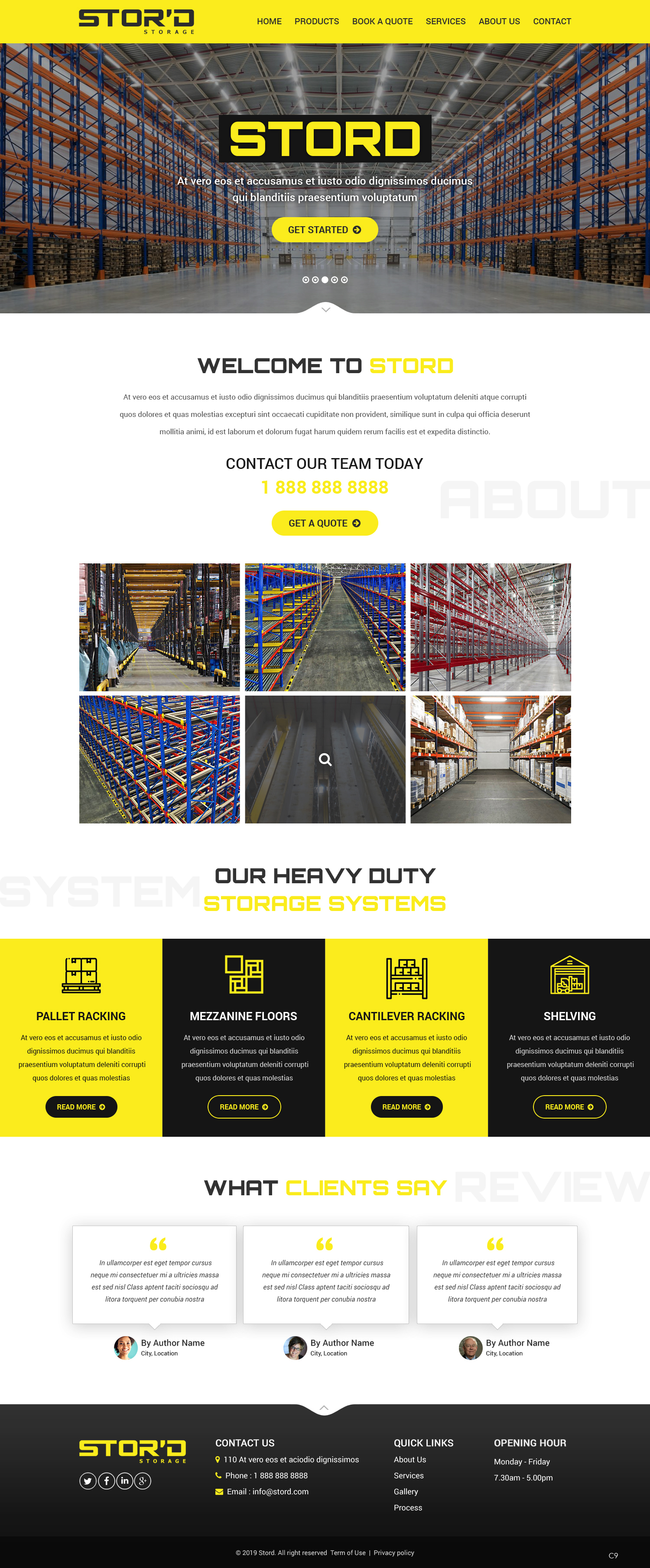 Modern, Professional Web Design for a Company by pb | Design