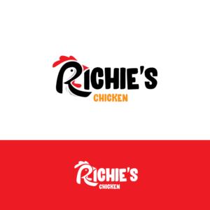 Richie's Chicken | Logo Design by ESolz Technologies