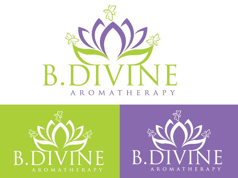 Elegant Playful Logo Design For B Divine Aromatherapy By Firoj 2 Design 22324005