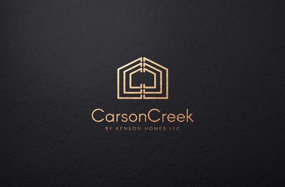 Elegant, Playful Logo Design for Carson Creek by Kenson ... on london bay homes, az homes, old brick homes,