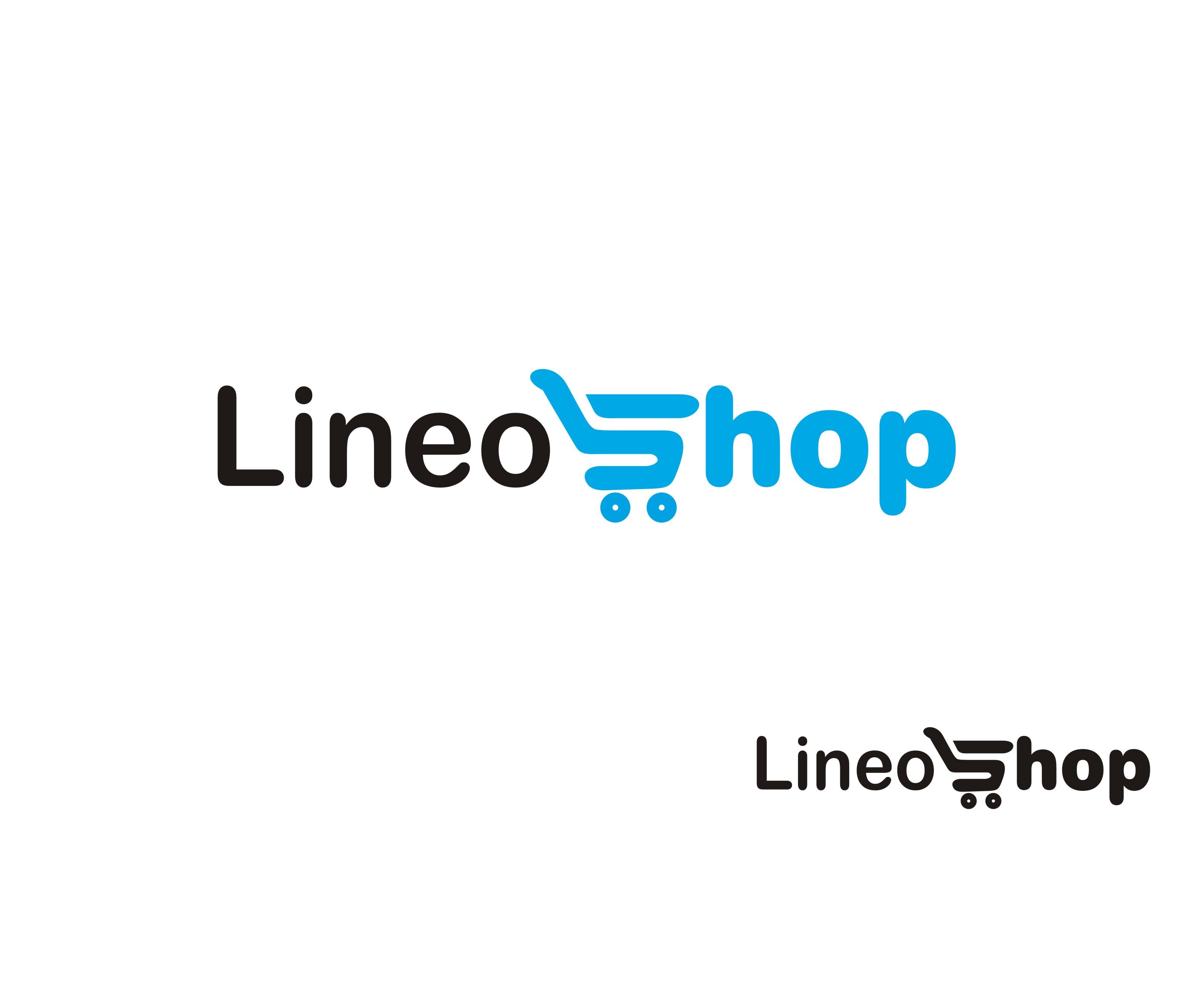 Modern, Professional Logo Design for LineoShop by Falguni   Design ...