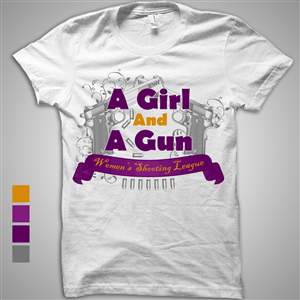 109 Feminine Colorful T-shirt Designs for a business in United States