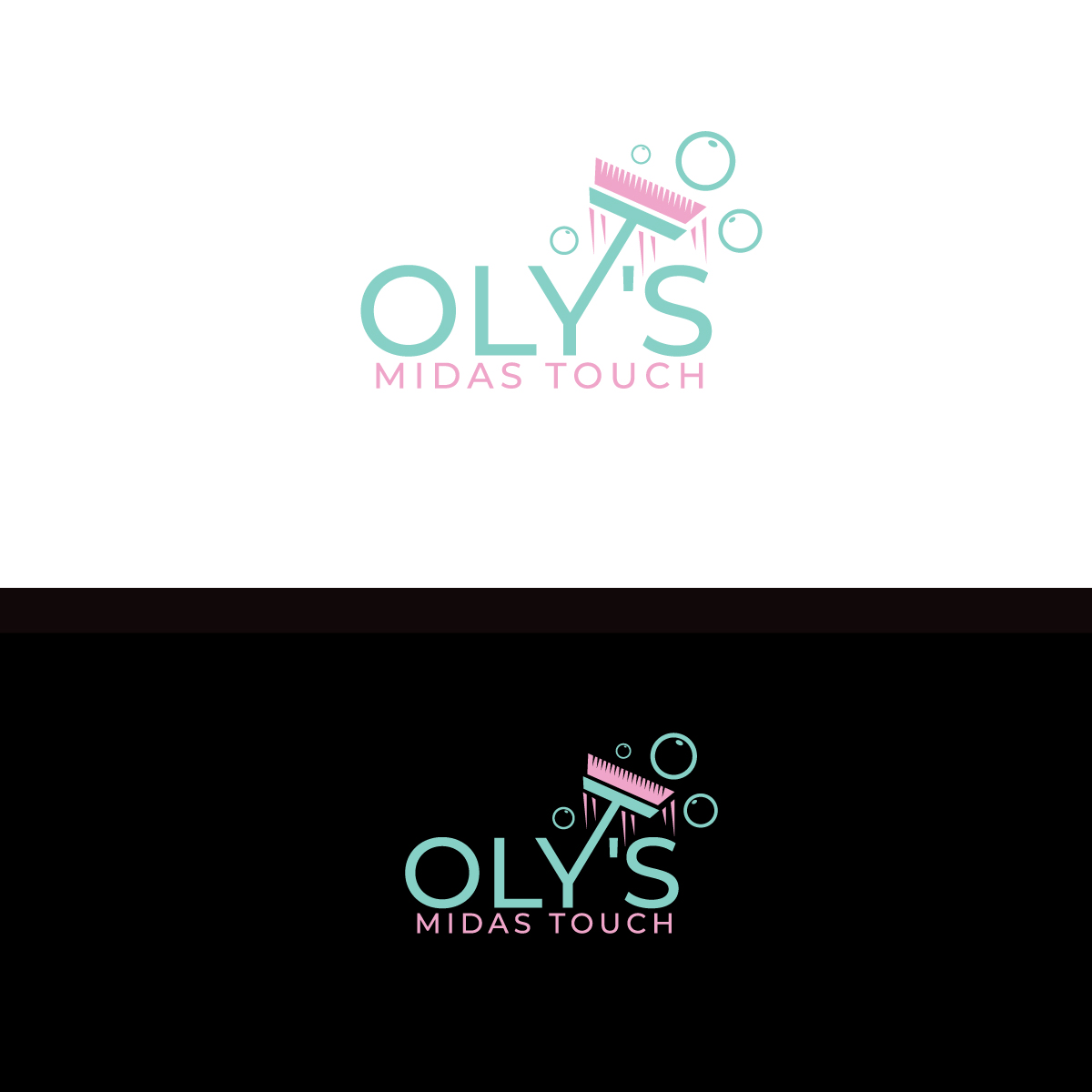 Elegant Playful Cleaning Service Logo Design For Oly S Midas Touch By Brand Maker Design 22418571