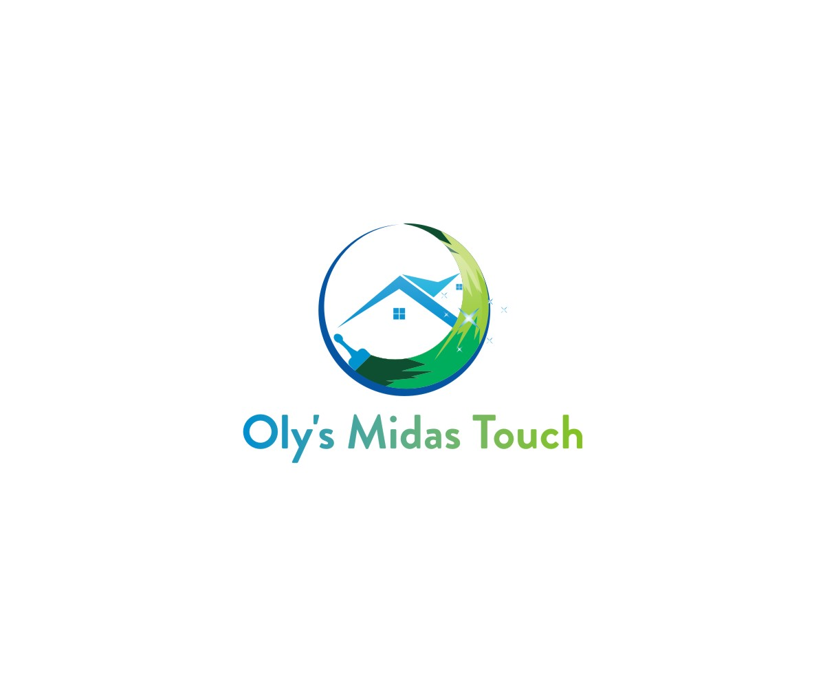 Elegant Playful Cleaning Service Logo Design For Oly S Midas Touch By Trj Design Design 22424611