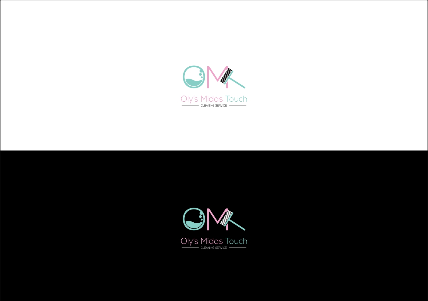 Elegant Playful Cleaning Service Logo Design For Oly S Midas Touch By Opung Design 22416759