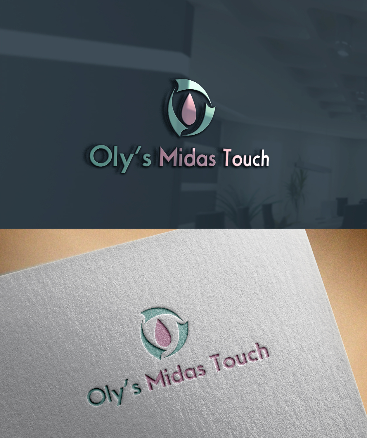 Elegant Playful Cleaning Service Logo Design For Oly S Midas Touch By Midira 2 Design 22427115