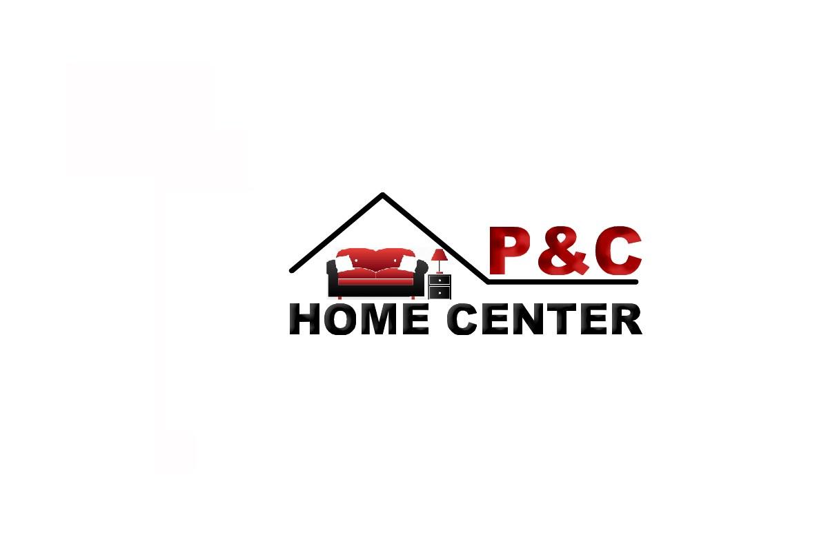 It Company Logo Design for P & C Home Center by EMA   Design #3024087