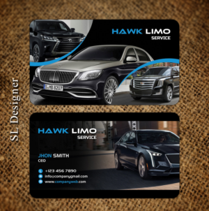 Custom Limo Business Card Designs