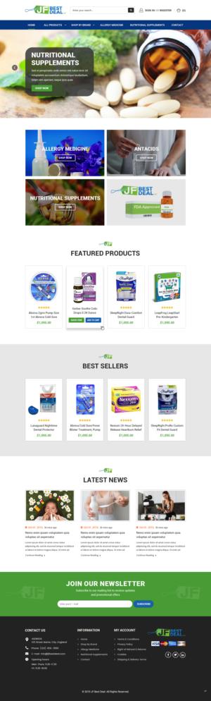 BigCommerce Design by pb for JF BestDeal LLC | Design: #22513653
