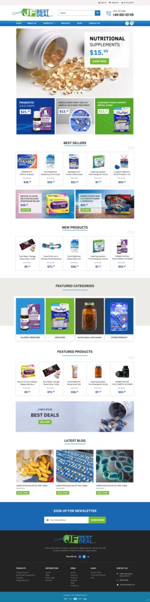 BigCommerce Design by pb for JF BestDeal LLC | Design: #22513672