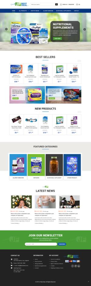 BigCommerce Design by pb for JF BestDeal LLC | Design: #22565465
