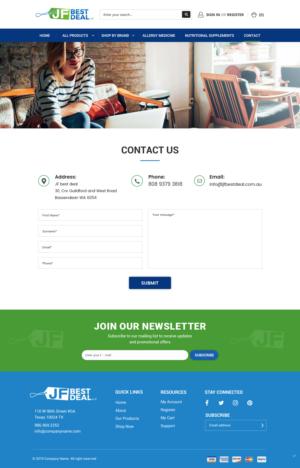 BigCommerce Design by pb for JF BestDeal LLC | Design: #22571581