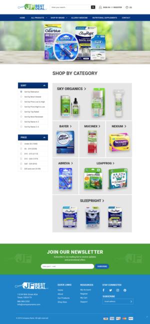 BigCommerce Design by pb for JF BestDeal LLC | Design: #22610096