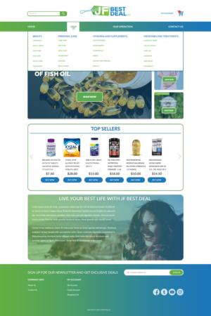 BigCommerce Design by Daniel84 for JF BestDeal LLC | Design: #22542843