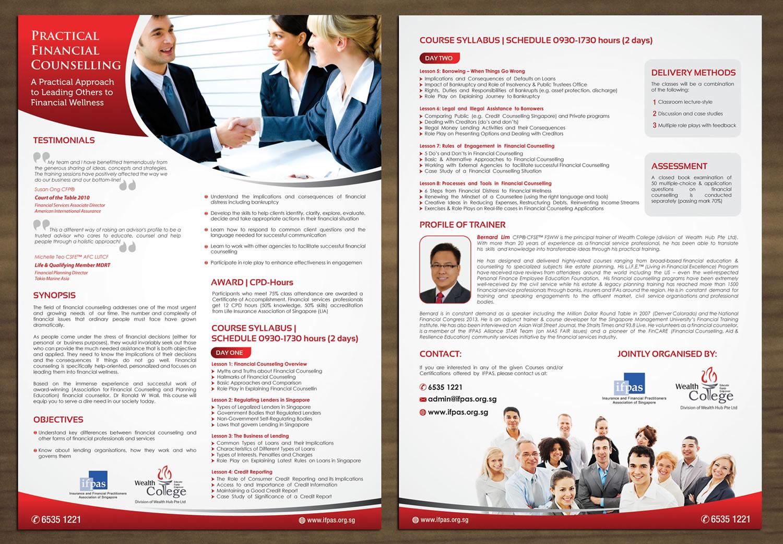 Brochure Design Design For Wealth Hub Pte Ltd A Company