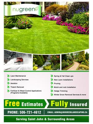24 Elegant Playful Landscaping Flyer Designs for a Landscaping ...