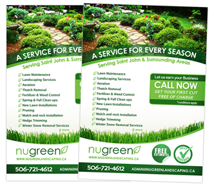 landscaping flyer designs 129 flyers to browse