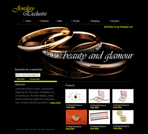 Jewelry Store Web Design Galleries for Inspiration