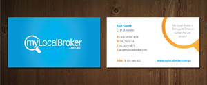 Business Card Design Contest Submission #713553