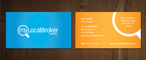 Business Card Design Contest Submission #713557