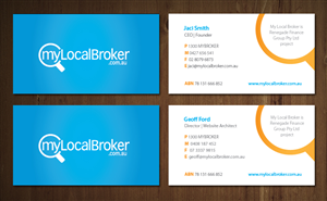 Business Card Design Contest Submission #721552