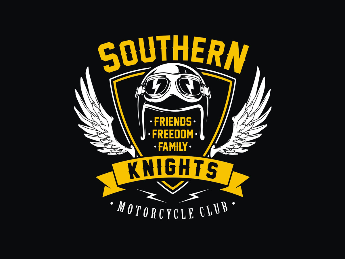 Playful Logo Design for Southern Knights MC by ...