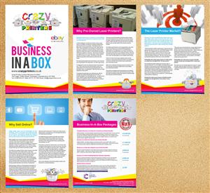Brochure Design by Priyo Subarkah - Update of Crazy Printers pdf Brochure