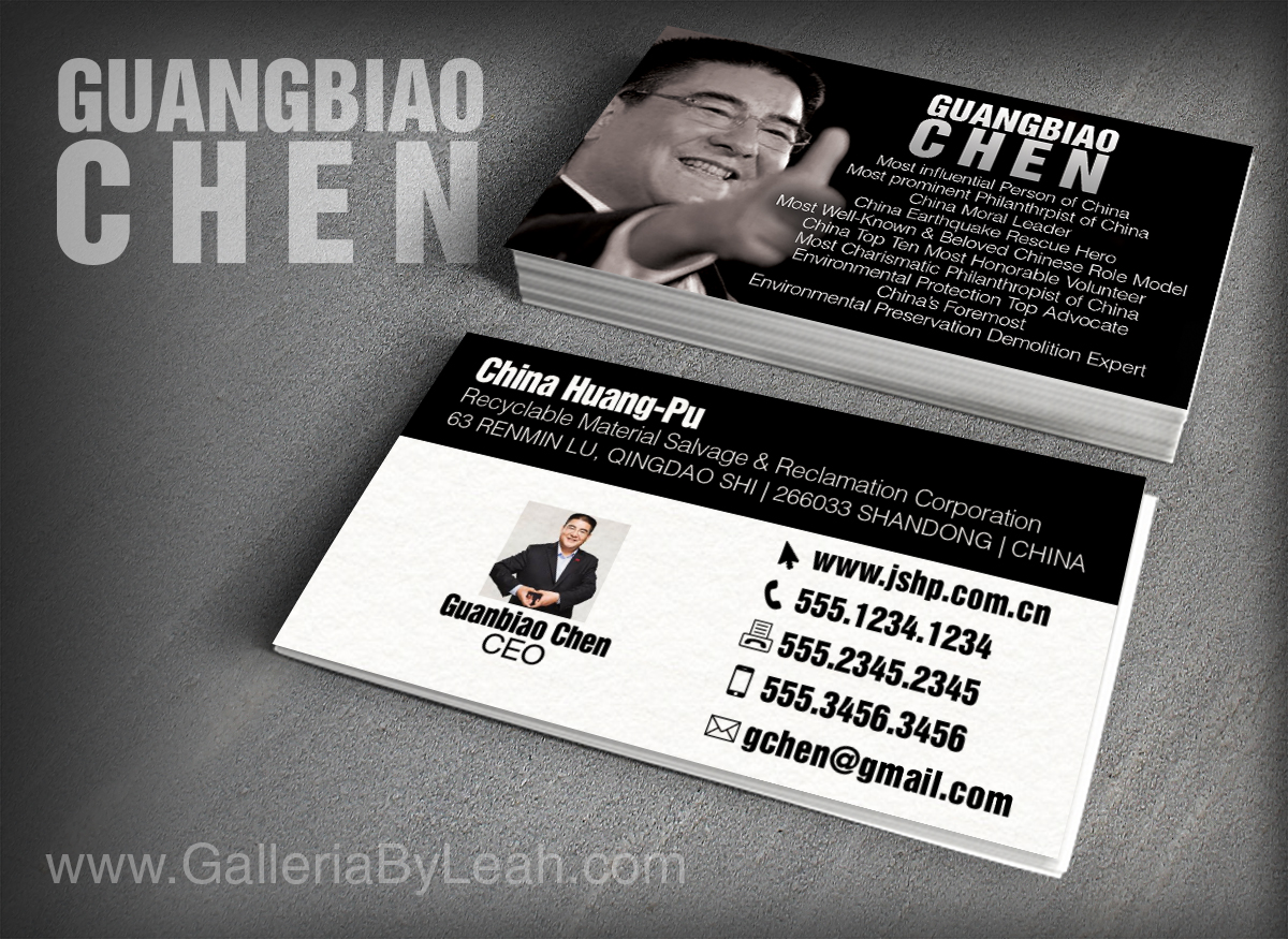 Elegant, Professional, Business Business Card Design for a Company ...