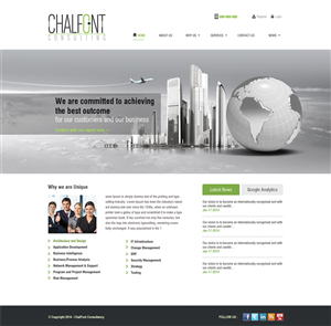 Business consultant web design galleries for inspiration for Web design consultant
