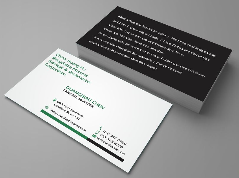 Bold, Playful Business Card Design for DesignCrowd by AwsomeD ...