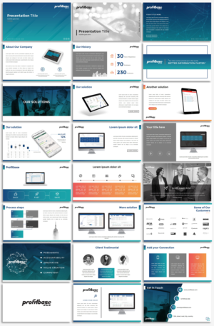 PowerPoint Design by Luvinda