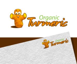 Organic Turmeric | Logo Design by Jay Design
