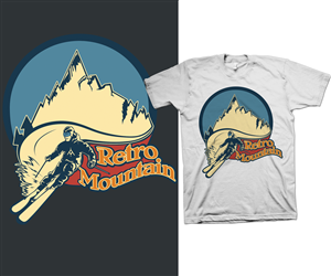 retro t shirt design