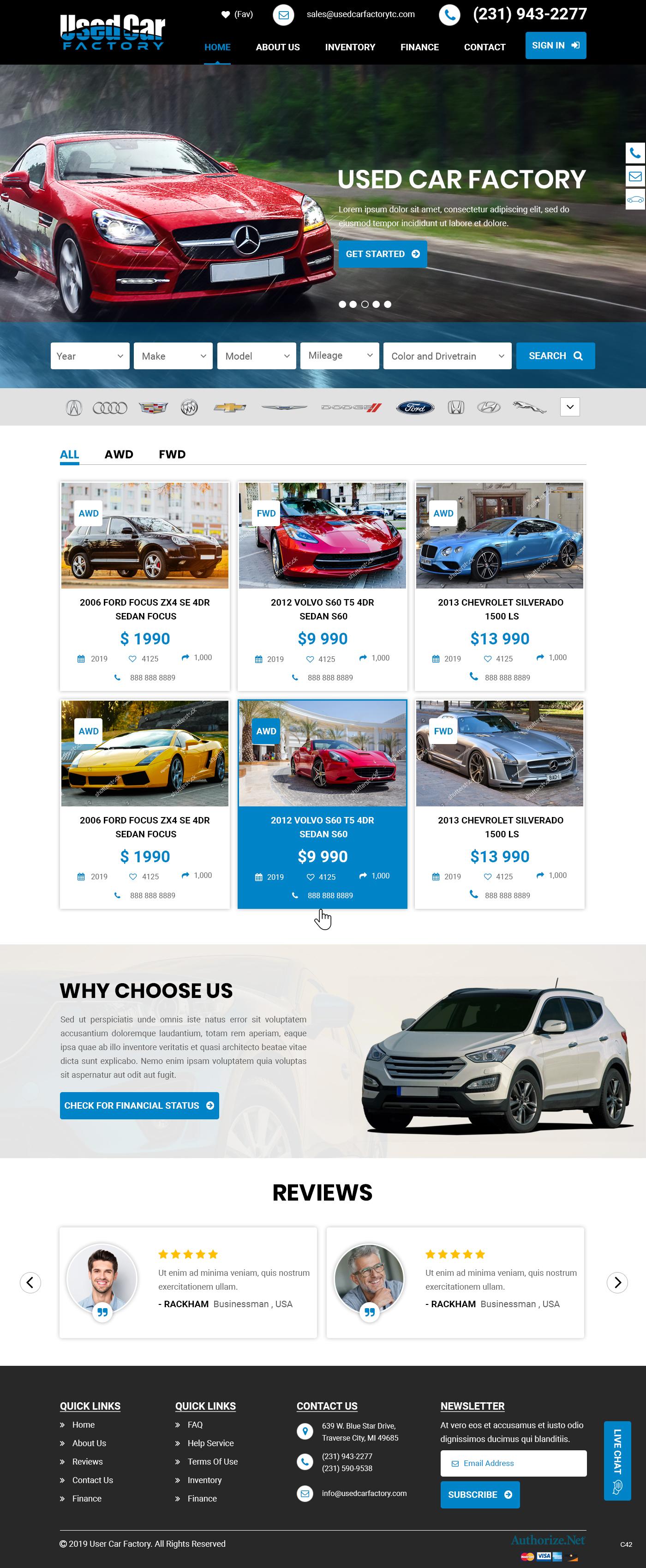 Used Car Dealerships Websites >> Elegant Playful Wordpress Design Job Wordpress Theme Brief