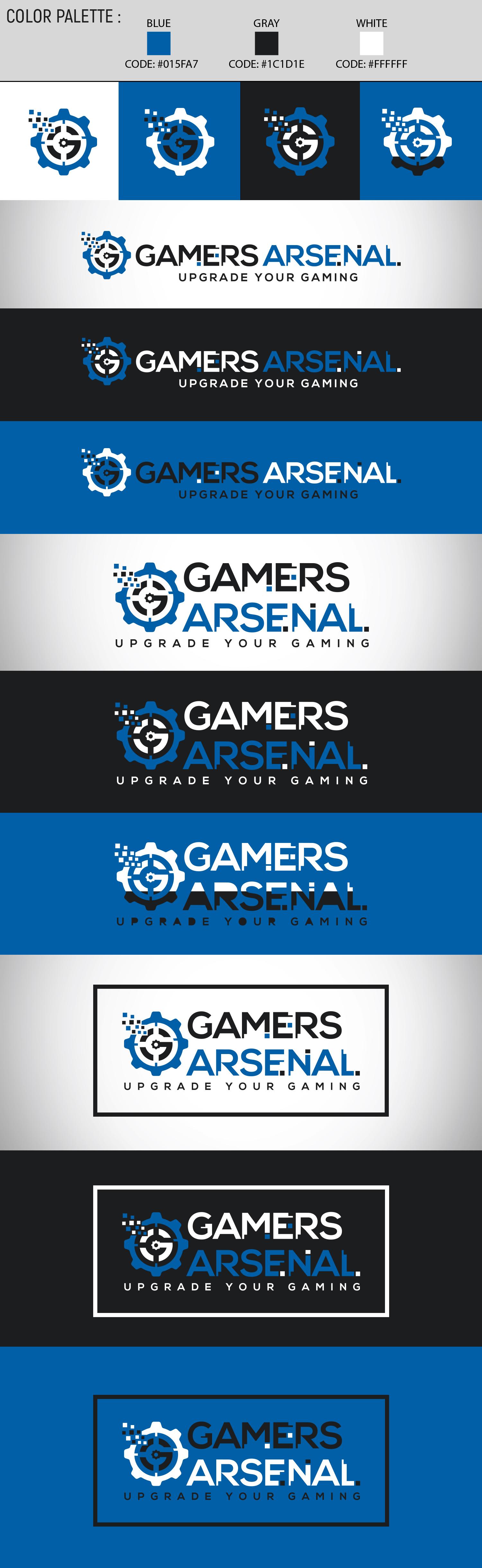 Modern Masculine Logo Design For Gamers Arsenal By Mustakim Design 23033377,Hazel Brown Chocolate Brown Chestnut Brown Hair Color