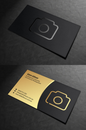 Photographer Business Cards 164