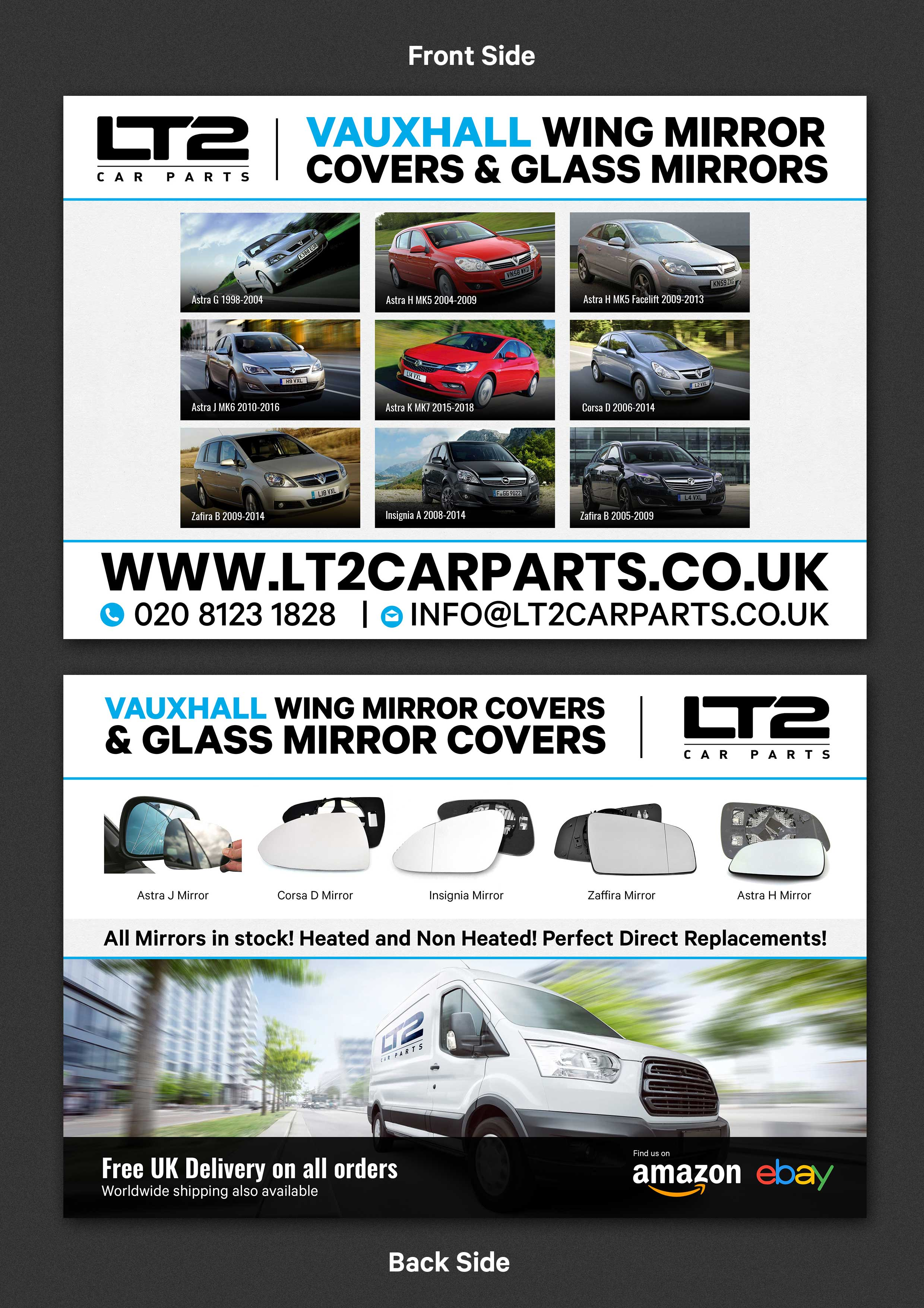 Elegant Playful Automotive Part Flyer Design For Lt2 Car Parts By Sd Webcreation Design 23109921