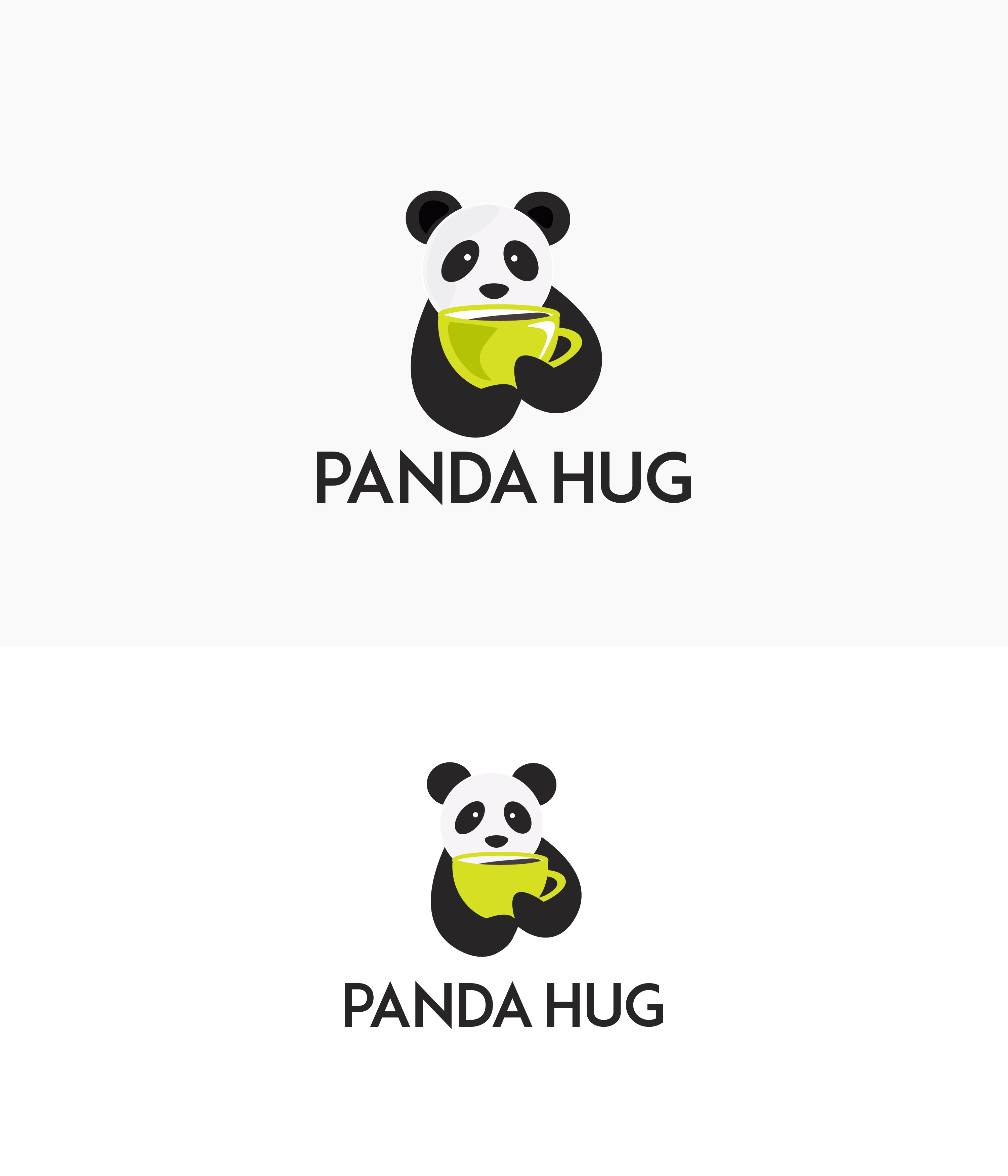 Modern Personable Logo Design For Panda Hug By Nalanrradu Design 23087221